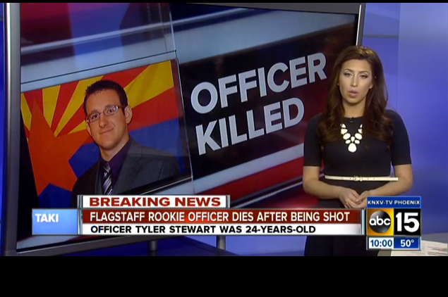 Arizona Officer Shot, Killed by Domestic Violence Suspect