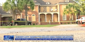 Video: Florence Cop Killing Suspect Set Up House for Deadly Ambush, Sheriff Says