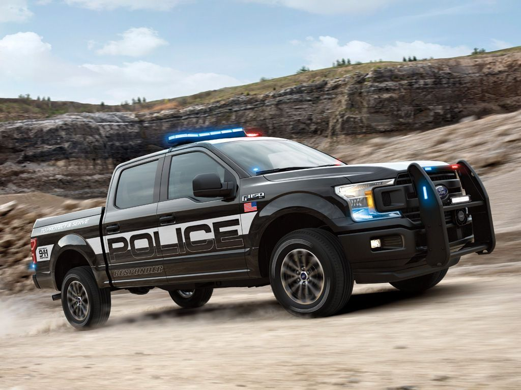 Ford Debuts Pursuit-Rated F-150 Pickup Truck