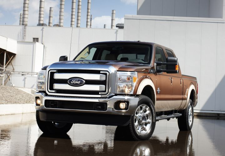 Ford F-250 Most Stolen Vehicle, Modesto Hottest Spot