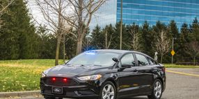 Ford Reveals First Plug-In Hybrid Police Vehicle