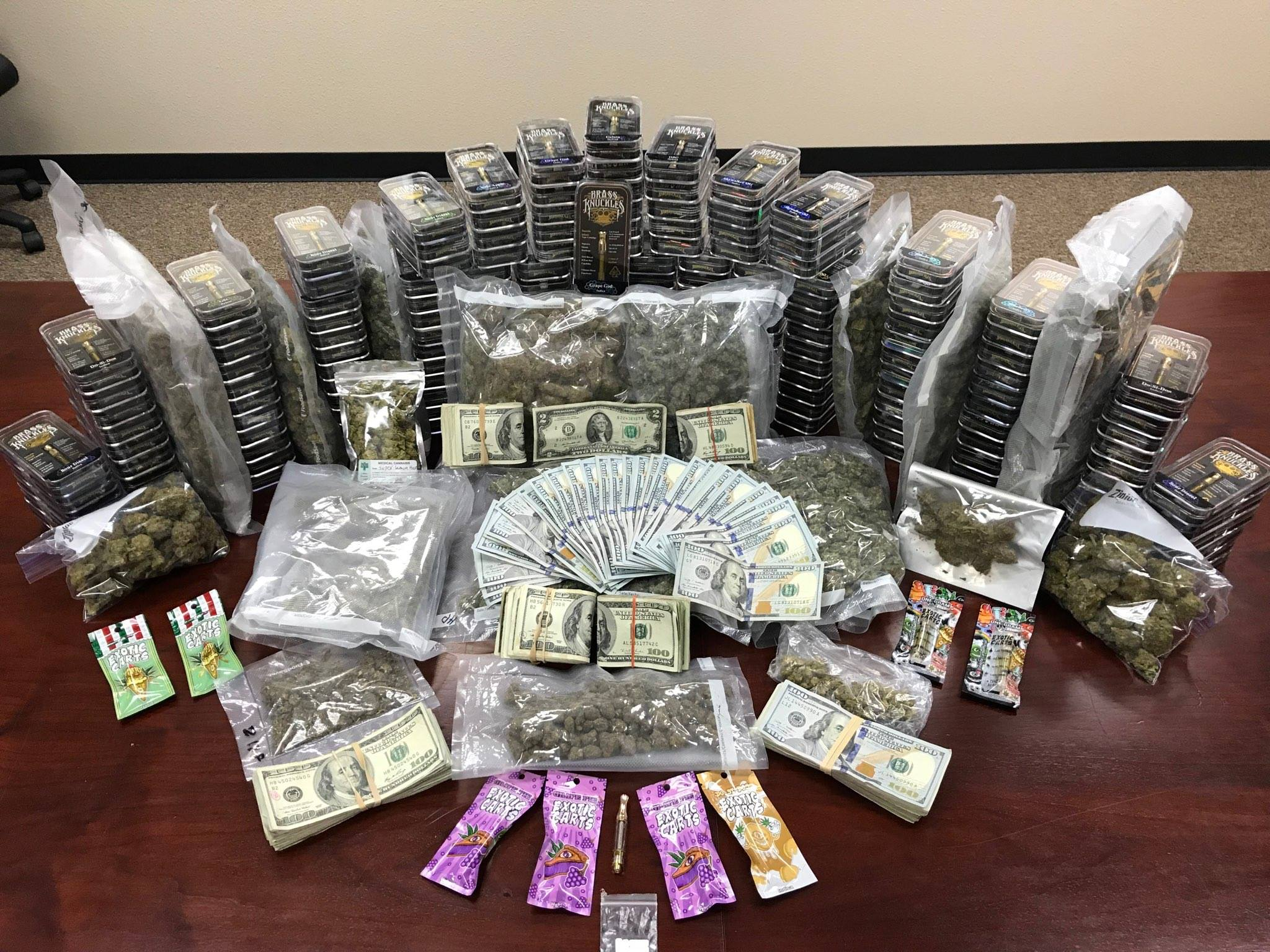 Texas Task Force Arrest Man, Seize $33K in Illegal Drugs in