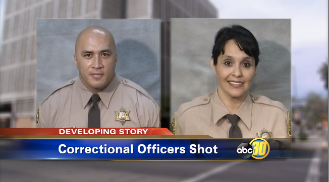 Video: CA Deputies Critically Wounded in Courthouse Shooting