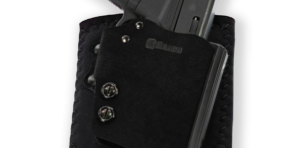 Galco's Ankle Guard holster, front view. (Photo: Galco)