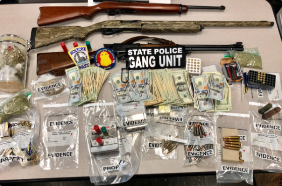 Massachusetts Police Seize Guns, Drugs, Cash in 4 Simultaneous Raids