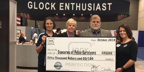 Glock Donates $50,000 to Survivors of Fallen Law Enforcement Officers