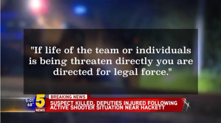 Video: 3 Arkansas SWAT Deputies Shot, Suspect Killed Monday Night