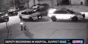Video: TX Deputy Shot by Handcuffed Suspect