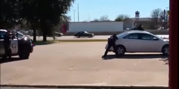 Video: Texas Officers Shoot, Kill Hostage Taker