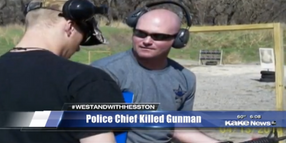 Video: Local Police Chief Hailed as Hero for Killing Kansas Active Shooter