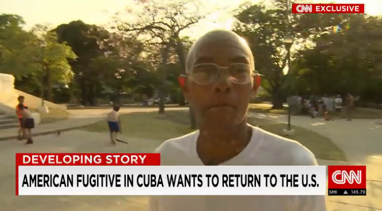 Man Wanted for 1971 Cop Killing Says He Wants to Return from Cuba