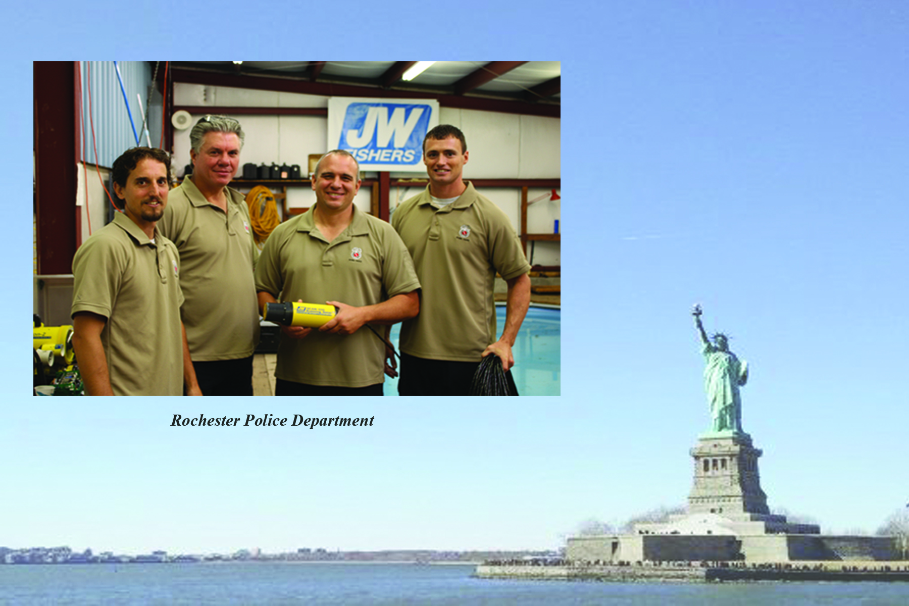 JW Fishers ROVs Used by Agencies Throughout New York