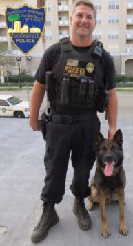 FL K-9 Officer Shot in Face, Bank Robbery Suspect Killed in Pursuit