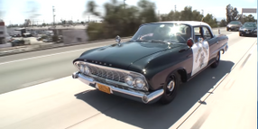 Video: Watch Jay Leno Drive an Ex-Highway Patrol '61 Dodge Polara
