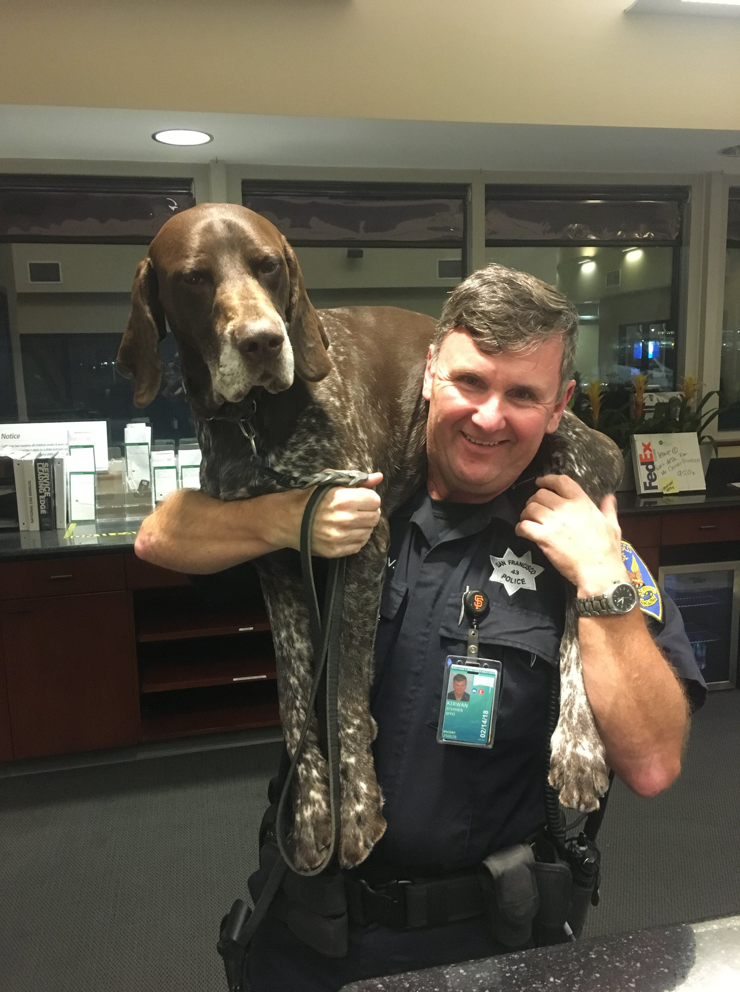 California K-9 Separated from Handler Reunited with Retired Officer
