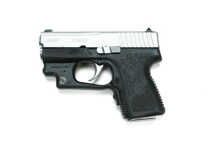 Kahr Arms Offers PM9 and PM40 With Crimson Trace Laserguard