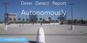 Video: Knightscope's Robots Can Help Law Enforcement Officers Secure Facilities, Prevent Crime