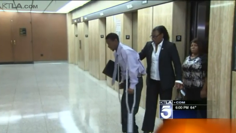 LAPD Officer Charged with Assault