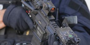 LAPD SWAT Selects LDI's Green-Laser Sighting System