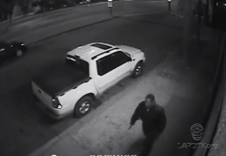 LAPD Releases Video of Suspected Ambush Shooter