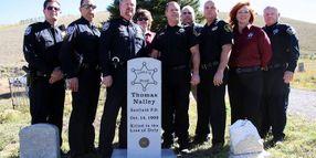 Utah Honors Deputy Killed In 1902