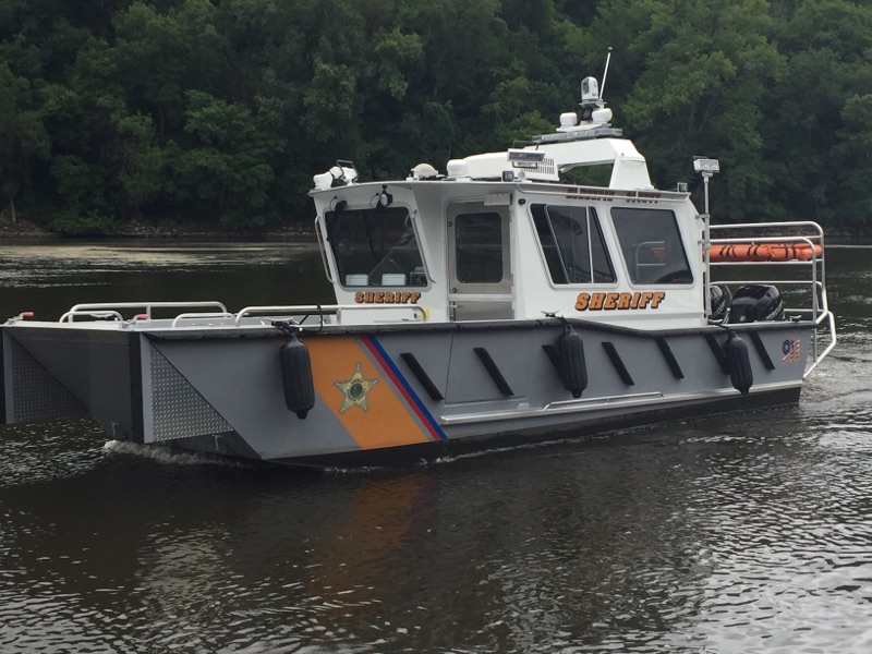 Lake Assault Boats Delivers Vessel to MN Water Patrol Unit