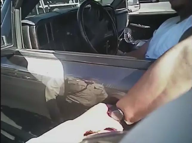 Video: Officer's Body Camera Captured Las Vegas Traffic Stop Shooting