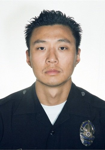 Photo of Officer Nicholas Lee courtesy of the LAPD