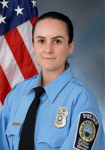 Officer Ashley Guindon was shot and killed on her first day on the job. The Marine veteran was assisting other officers on a domestic violence call when they were ambushed. (Photo: Prince William County PD)