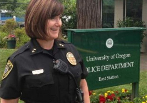 University of Oregon Police Chief Carolyn McDermed, who has led the department for four years, was given $46,000 to leave the job with four months left on her yearly contract. Her retaliation against an officer who spoke out against department bias and mismanagement helped cost UO at least $1.5 million in damages and legal bills. (Photo: The University of Oregon)