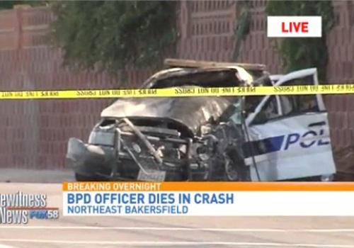 Video: California Officer Killed in Pursuit Crash - Patrol - POLICE