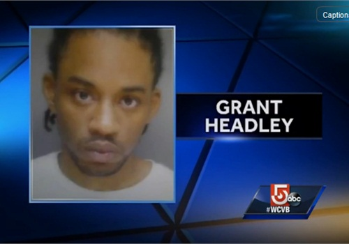 Grant Headley is accused of shooting and injuring a Boston officer. (screen capture: WCVB)