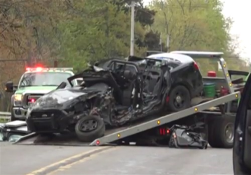 Video: Michigan Officer Killed in Single-Car Crash - Patrol