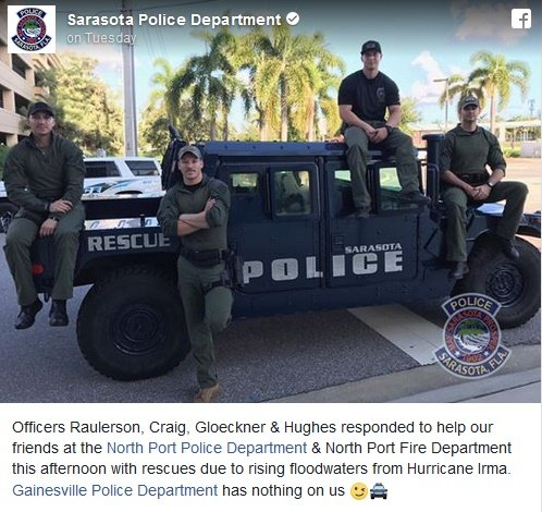 Photo: Sarasota (FL) PD