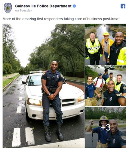 Photo: Gainesville (FL) PD/Facebook
