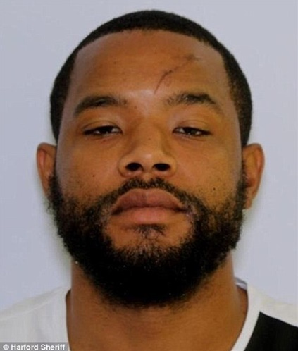 Radee L. Prince was wanted in connection with the murder of three people in a Maryland office. Two more people were critically wounded in that shooting. He was also wanted for a shooting in Wilmington, DE. (Photo: Harford County SO)
