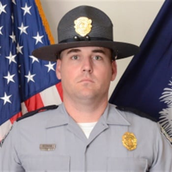 Trooper Daniel Keith Rebman Jr. (Photo: South Carolina Highway Patrol)