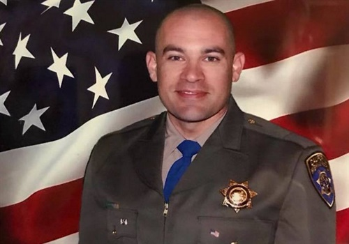 Officer Andrew Camilleri was killed in a crash on Christmas Eve. (Photo: California Highway Patrol)