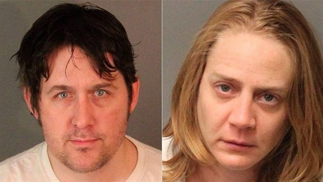 Benjamin Paul Baldassarre and Ashley Lauren Carroll allegedly used a drone to deliver drugs. (Photo: Riverside PD)