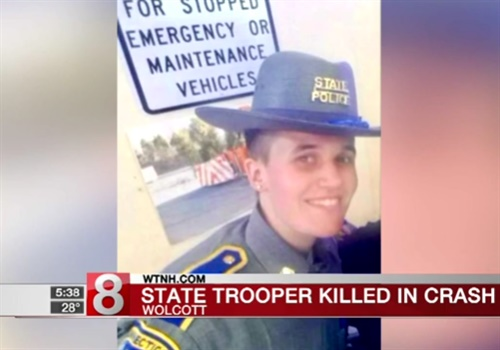 Video: Connecticut State Trooper Killed in Off-Duty Crash
