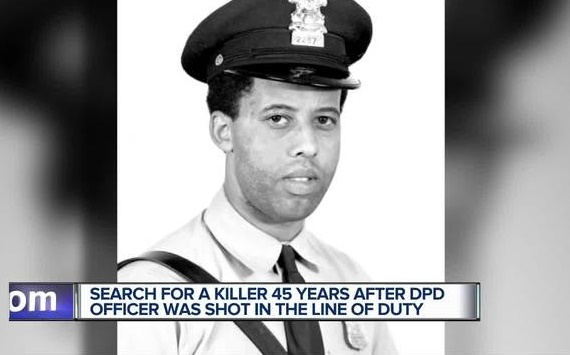 Detroit Police Officer Donald Kimbrough was shot in 1972 and died last year of complications from his wounds. The shooting has now been ruled a homicide. (Photo: WXYZ screen shot)