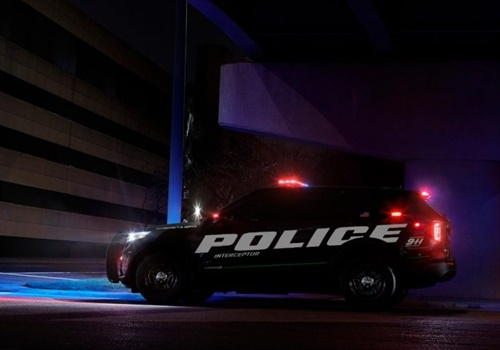 Ford Police Interceptor Utility hybrid (Photo: Ford)