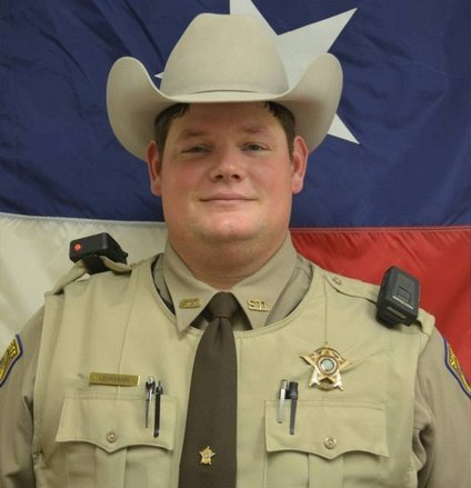 "Deputy Calvin ""CJ"" Lehmann was shot and critically wounded serving a warrant. Photo: Fayette County Sheriff's Office"