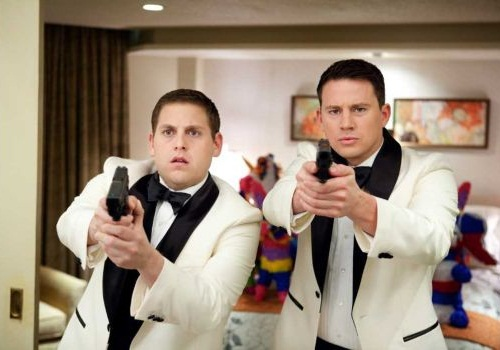 """Suburban Houston agencies sent officers into area high schools to pose as students. The scenario is similar to the plot of the movie and TV show """"21 Jump Street."""" Jonah Hill, left, and Channing Tatum starred in the Columbia Pictures action comedy """"21 Jump Street."""" (Courtesy of Scott Garfield/Columbia Pictures/MCT) (Photo: Publicity Still)"""