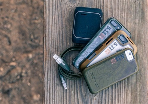 Griffin Survivor: 5.11 Tactical Edition range of ultra protective iPhone 7, iPhone 7 Plus cases, portable power and connectivity solutions are now available. (Photo: 5.11 Tactical)