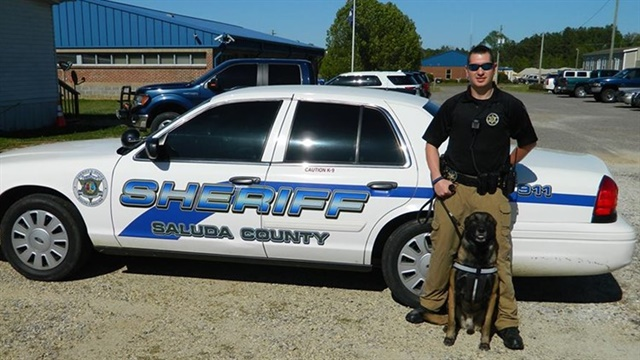Corporal Dale Hallman of the Saluda County (SC) Sheriff's Officer was killed Thursday in a single-vehicle crash. (Photo: Saluda County (SC) SO)