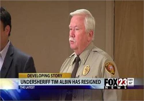 Tulsa County, Okla., Undersheriff Tim Albin. (Photo: Screen Shot from Fox 23)