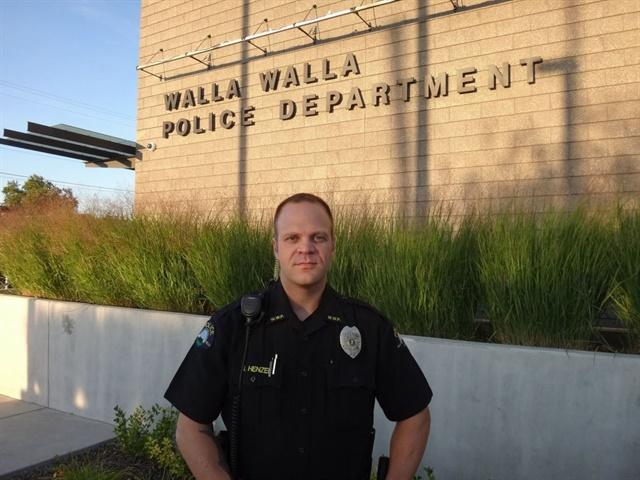 "Officer Nicholas ""Nick"" Henzel (Photo: Walla Walla PD)"