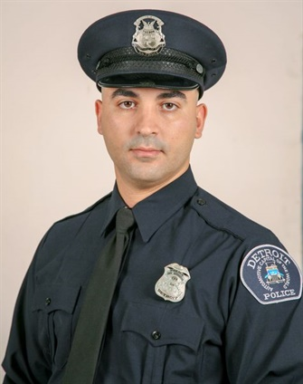 OfficerFadi Shukur of the Detroit Police Department was seriously injured in an August 4 hit-and-run. He died overnight. (Photo: Detroit PD)