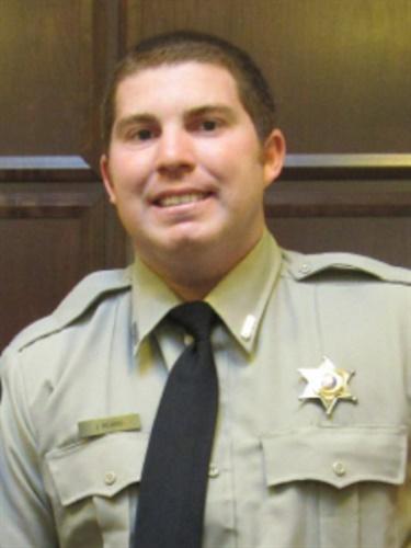 Ouachita Parish Sheriff's Dep. Justin Beard was killed on duty Sunday in a single-vehicle crash. (Ouachita Parish SO)